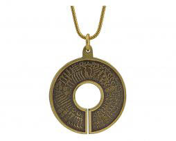 BioSignature Pendant in Yellow Bronze