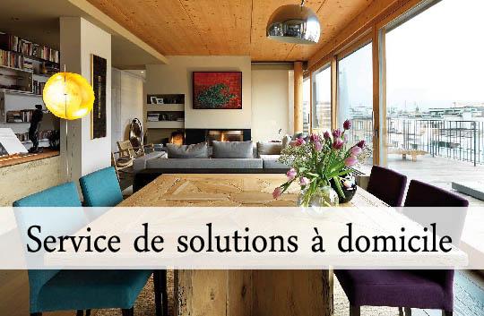 Service environnemental de solutions pour la maison